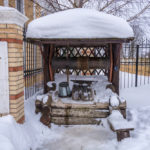 preventing well water freezing winter